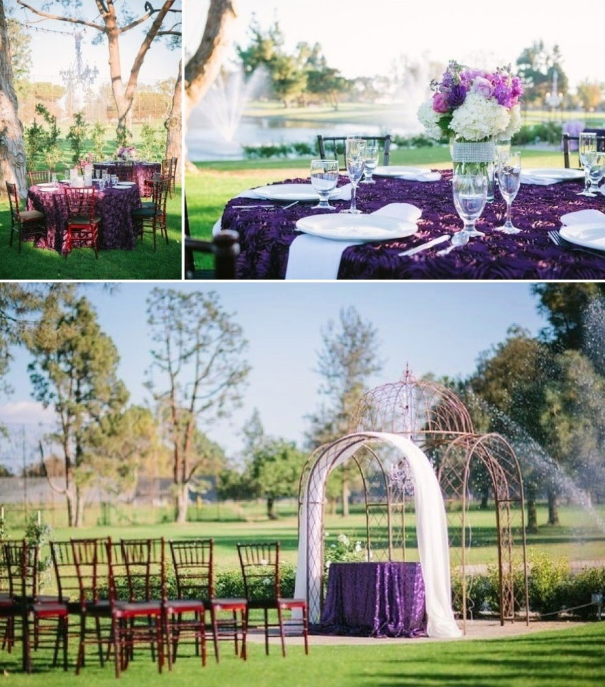 wedding lakeside